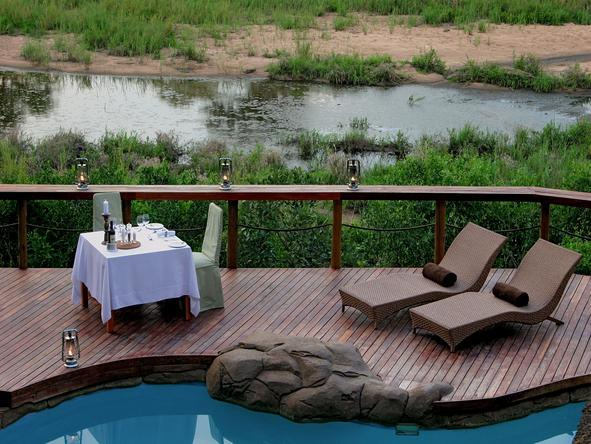 Jock Safari Lodge - Deck