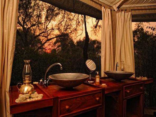 Kanga Bush Camp - Bathroom