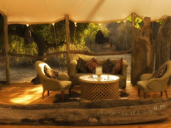 Kanga Bush Camp - Lounge
