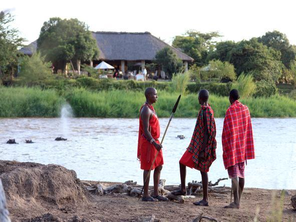 Karen Blixen Camp - Massai