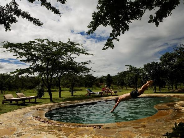 Karen Blixen Camp - Pool