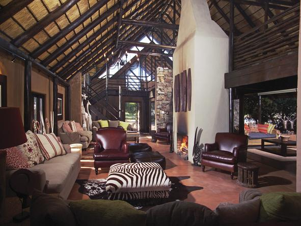 Kariega River Lodge - Lounge