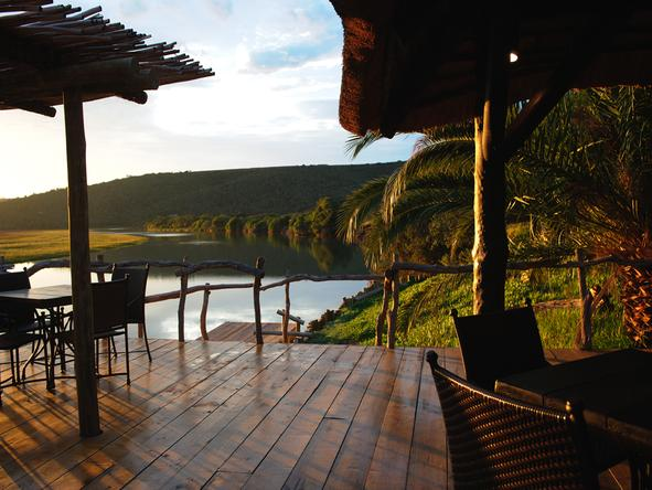 Kariega River Lodge - Deck