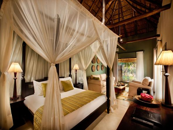 Kempinski Mokuti Lodge - Bedroom