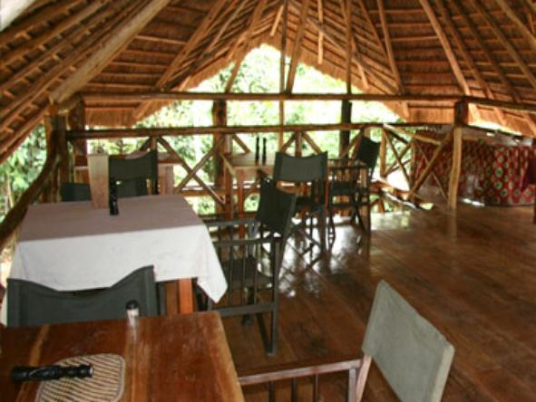 Kibale Forest Camp - dining room