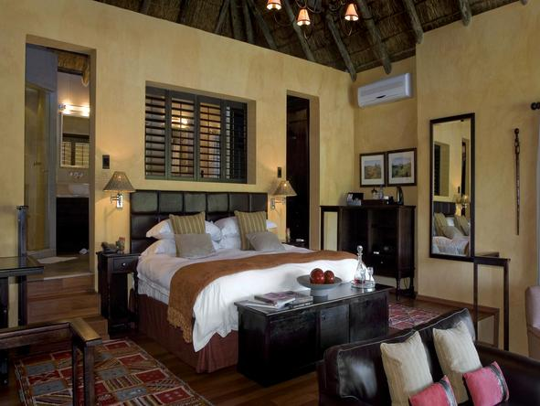 Kichaka Private Game Lodge - Bedroom
