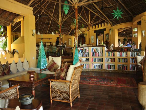 Kinasi Lodge - Lounge