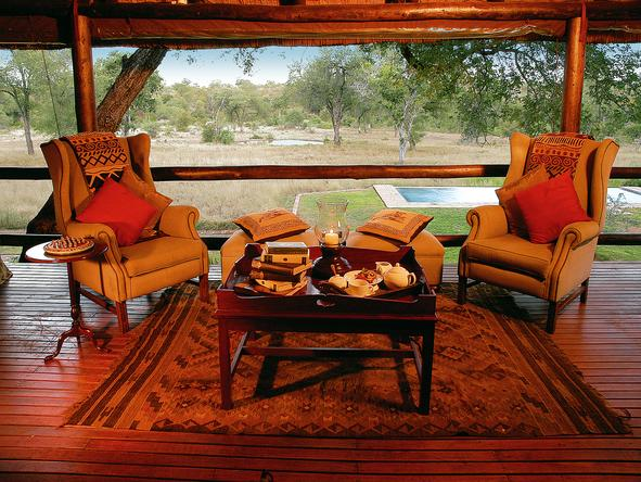 Kings Camp Private Game Reserve -Deck