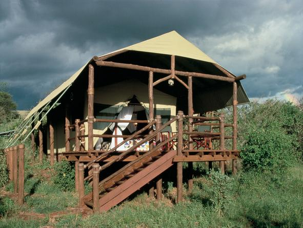 Kirawira Luxury Tented Camp - Exterior