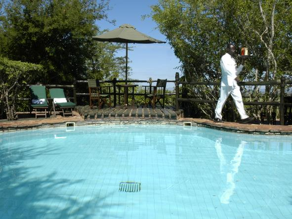 Kirawira Luxury Tented Camp - Pool