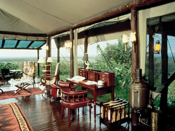 Kirawira Luxury Tented Camp - Bedroom