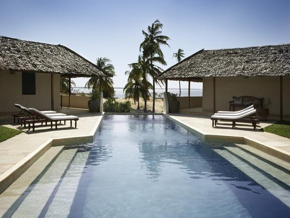 Kizingoni Beach Houses - Poolside