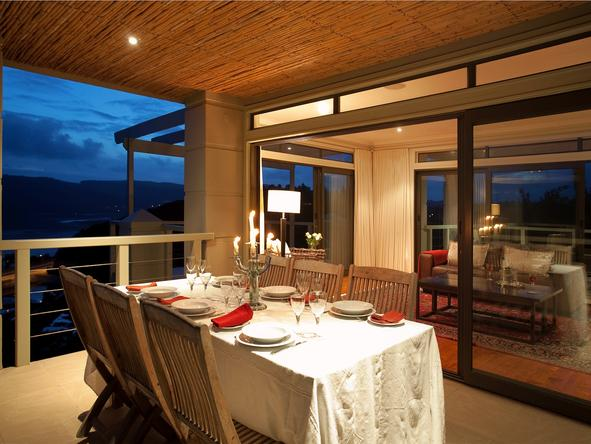 Knysna Heights Villa - Dining