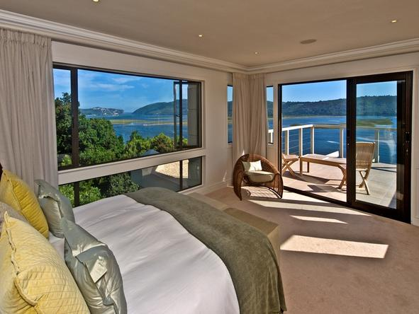 Knysna Heights Villa - Bedroom
