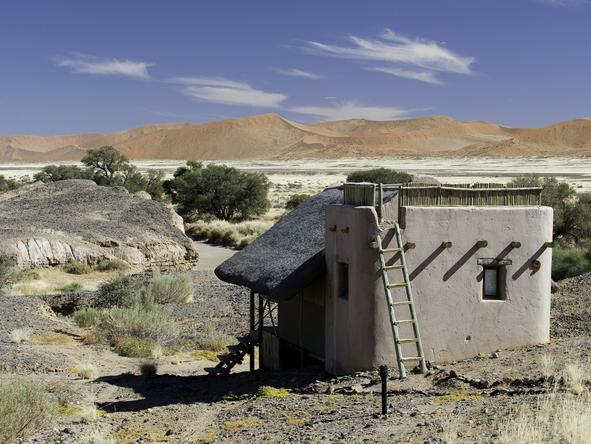 Kulala Desert Lodge - Exterior View