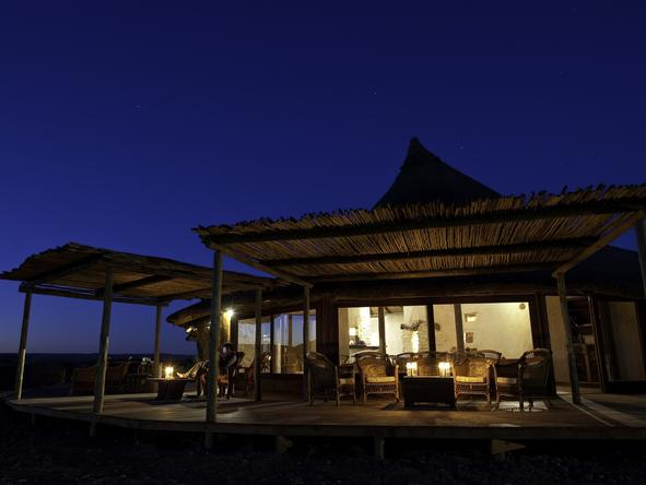 Kulala Desert Lodge - Deck