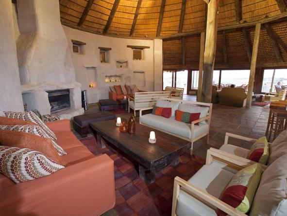 Kulala Desert Lodge - Lounge