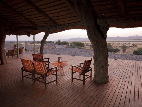 Kulala Desert Lodge - Deck2