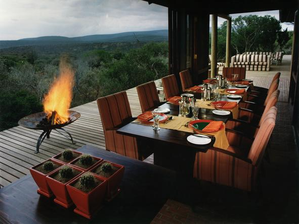 Kwandwe Ecca Lodge - Dining