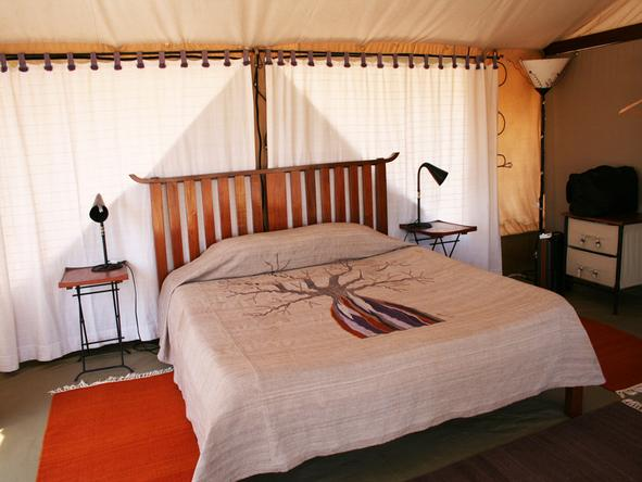 Kwihala Camp -Bedroom1