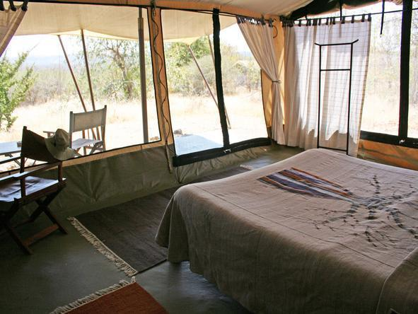 Kwihala Camp - Bedroom2