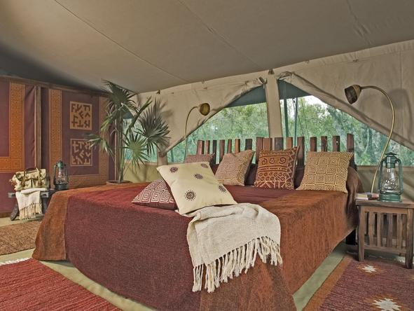 Laikipia Camp - Bedroom