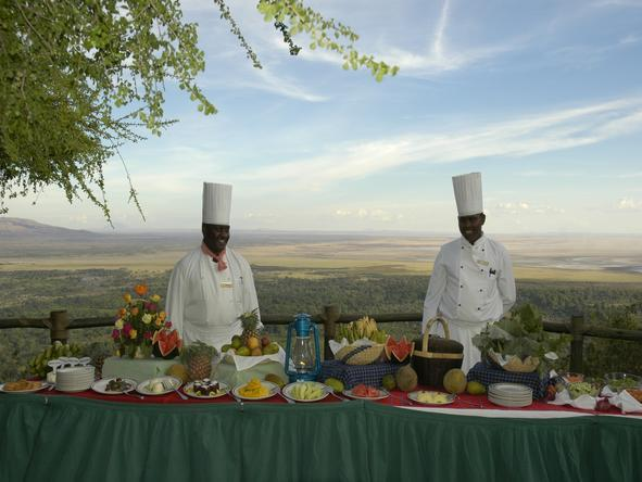 Lake Manyara Serena Safari Lodge - Food