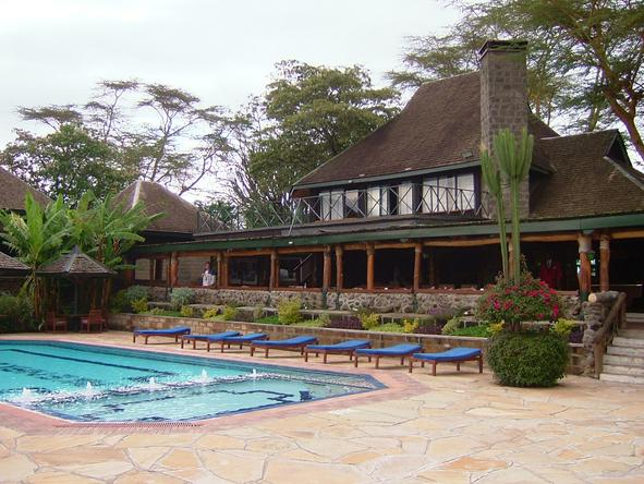 Lake Nakuru Lodge - Pool