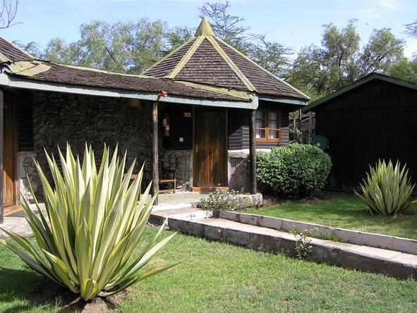 Lake Nakuru Lodge - Exterior