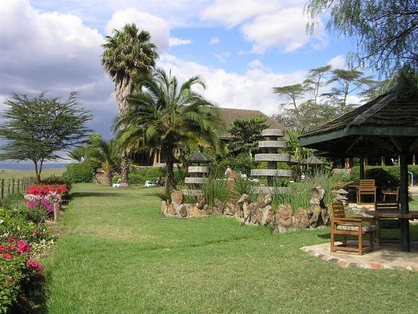 Lake Nakuru Lodge - Garden