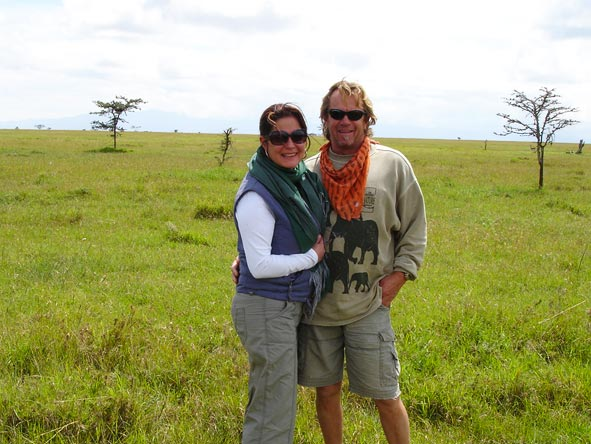 Lauren Johansson - a photo break in the Masai Mara