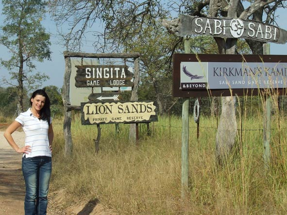 Leanne Rodney - the arrival in Kruger!