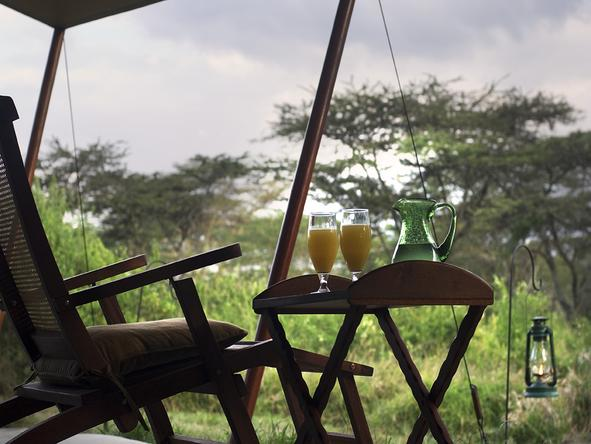 Leleshwa Tented Camp - Restaurant