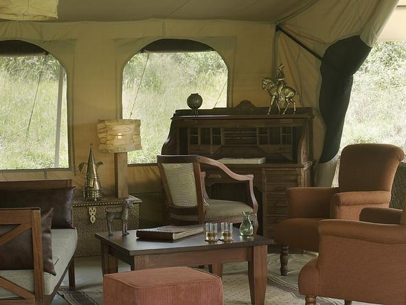 Leleshwa Tented Camp - Lounge2