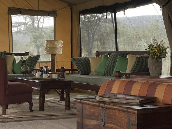 Leleshwa Tented Camp - Lounge