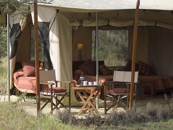Leleshwa Tented Camp - Bedroom