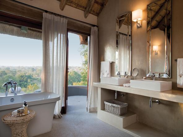 Leopard Hills Private Game Reserve - bathroom