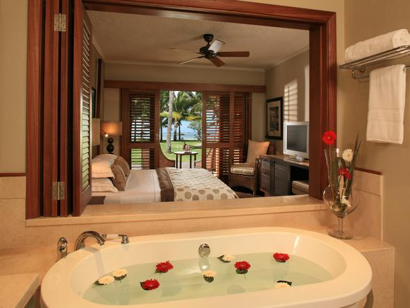 LUX Le Morne - luxury bathroom