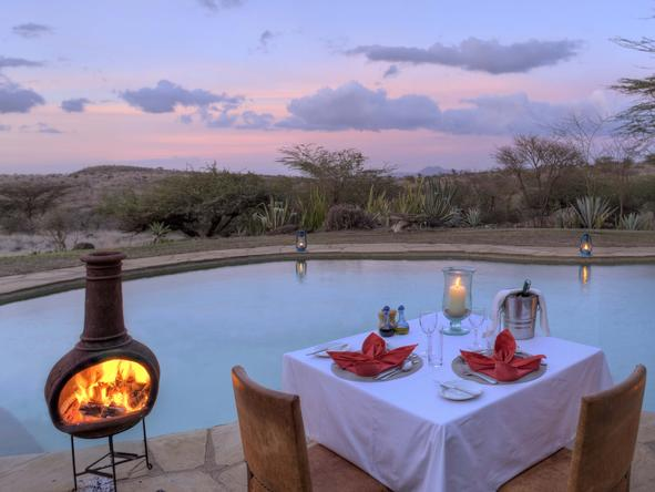 Lewa Safari Camp - Dinner