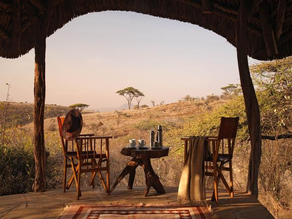 Lewa Safari Camp - Sitting Down