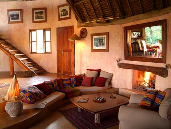 Loisaba Cottage - Lounge