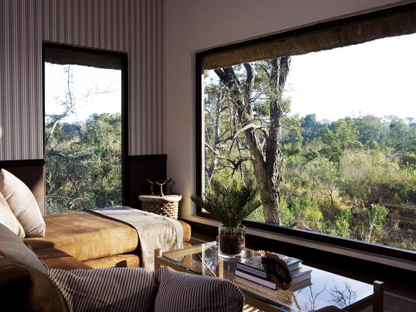 Londolozi Pioneer Camp - suite view