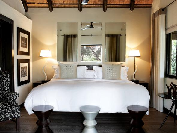Londolozi Varty Camp - bedroom