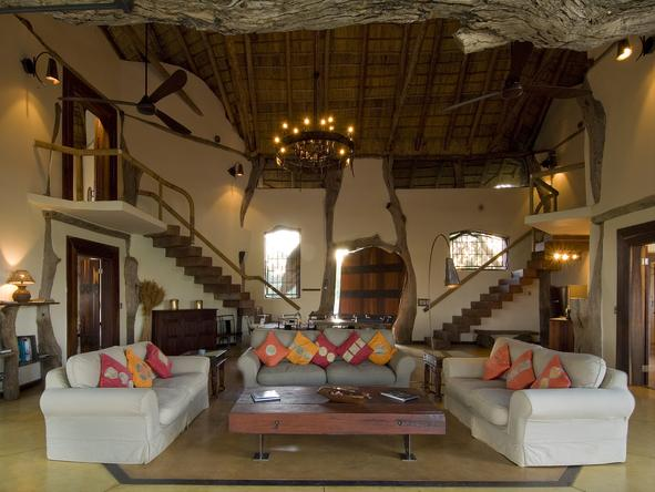 Luangwa Safari House - Lounge3