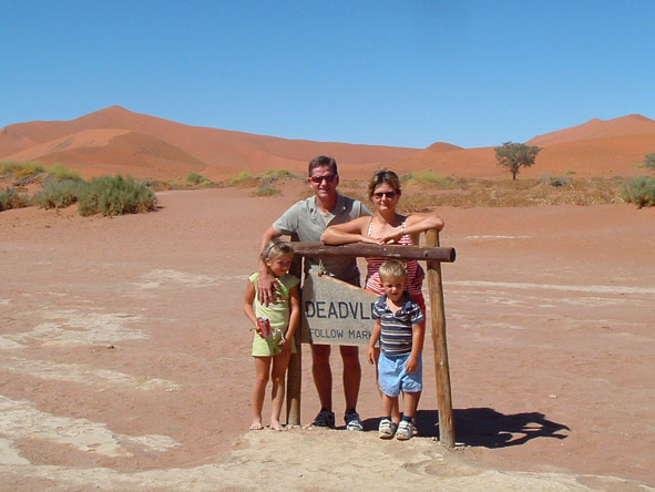 Madelein Norval - visiting Sossusvlei and Deadvlei in Namibia