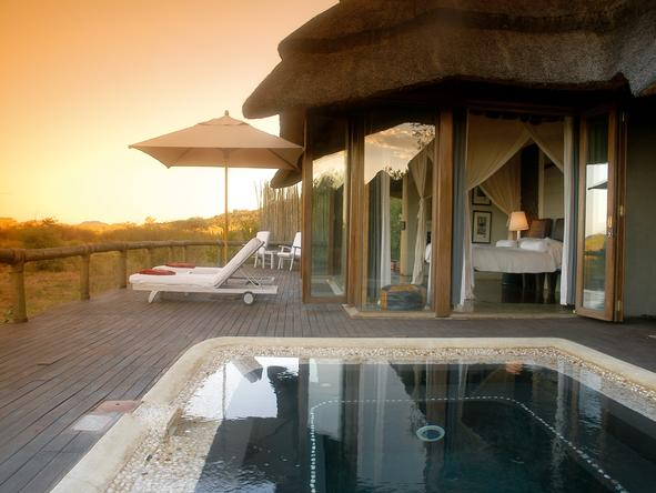 Madikwe Hills - Main Camp - Deck Pool