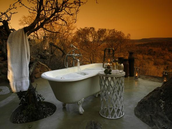 Madikwe Hills - Main Camp - Outdoor Bath
