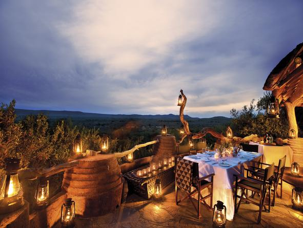 Madikwe Safari Lodge - Deck1