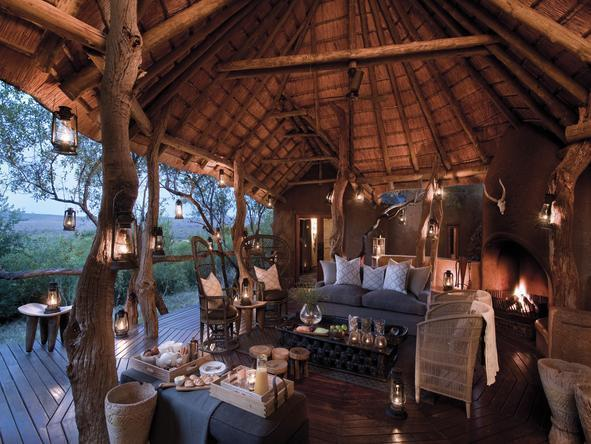 Madikwe Safari Lodge - Lounge