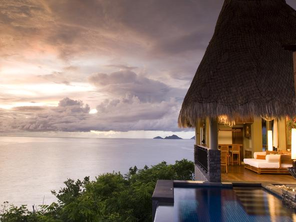 Maia Luxury Resort & Spa - view from villa